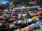 ตลาดน้ำดำเนินสะดวก จังหวัดราชบุรี