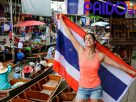ล่องเรือชมคลอง ส่องวิถีความเป็นไทยที่ตลาดน้ำดำเนินสะดวก